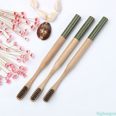 Environmental Toothbrush Bamboo Oral Care Teeth Brushes Eco Soft Natural 1PC