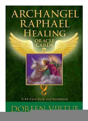 Archangel Raphael Healing Oracle Cards by Doreen Virtue 9781401924744