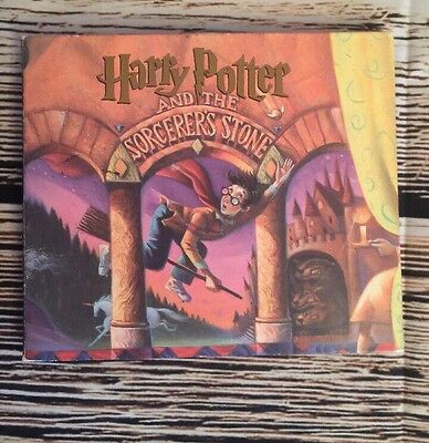 Harry Potter and the Sorcerers Stone Audio Book CD Disc 1-4 Only