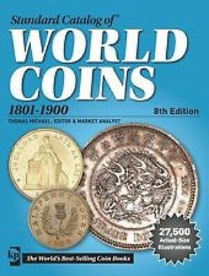 Standard Catalog of World Coins 1801-1900, 8th Edition, Krause, NEW