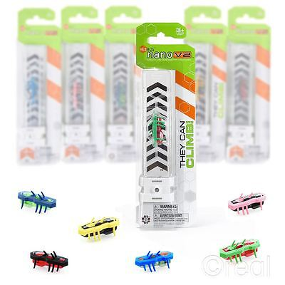 New 1 3 5 Or 10 Hexbug Nano V2 Electronic Insect Robot Pet Bug Official