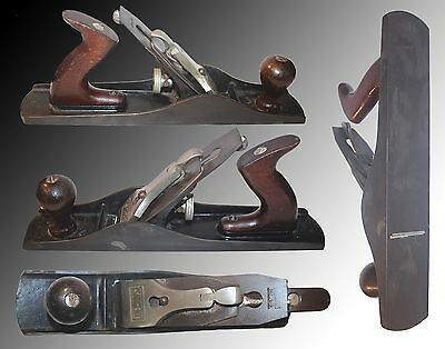 "Vintage Sargent # 414 Steel Block Plane W/ A 14"" X 2 1/2"" Bed And 2 Inch Blade"