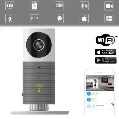 Wireless WiFi 720P HD Network CCTV Security IP Camera Recorder IR Night Vision