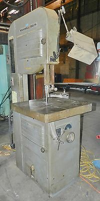 """Rockwell Delta 20"""" Vertical Band Saw 28-365"""