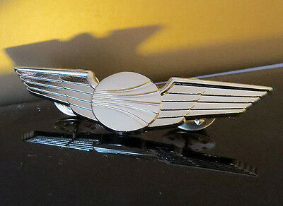 WINGS CONTINENTAL AIRLINES Wing Pin Gold for Pilots Crew Replica 55mm