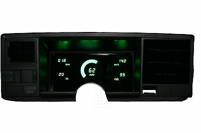 Chevy Truck DIGITAL DASH PANEL FOR 1988-1991 Chevy GMC GREEN LEDs!