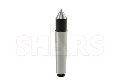SHARS 2MT Steel Morse Taper Solid Dead Center NEW