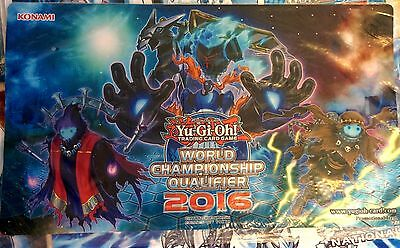Phantomknight (Phantomritter) WCQ National 2016 Playmat Spielmatte Yugioh