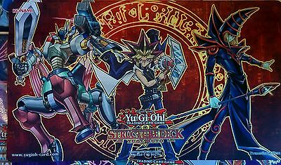 Yugi / Magnet Warriors / Dark Magician Playmat Win-A-Mat Spielmatte YCS