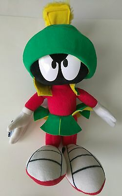 """Used 14"""" inch Marvin the Martian, Applause, 1994 Looney Tunes, Stuffed/Plush"""
