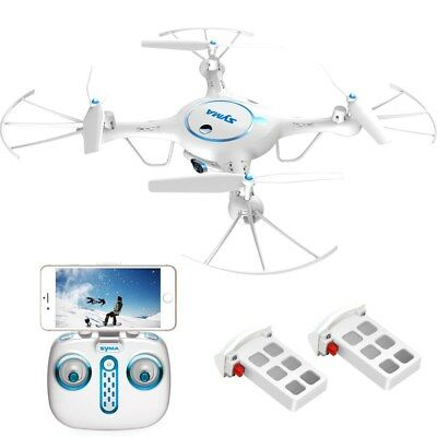 2 Batteries + Charger Syma X5UW RC Quadcopter Drone Wifi FPV 2.4G 720P HD Camera