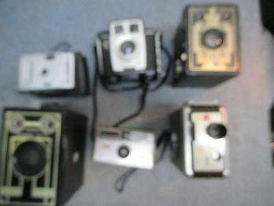 Nice Vintage Camera Lot Untested Collectible Brownie 6 16 & Movie Camera,twin 20
