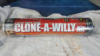 Clone A Willy Kit: Light Tone BRAND NEW