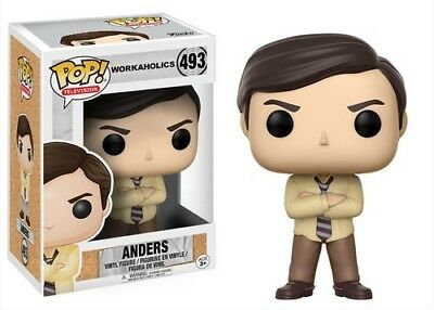 FUNKO POP! TELEVISION: WORKAHOLICS - ANDERS [New Toy] Vinyl Figure