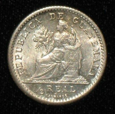 1899, 1/2 Real from Guatemala.  No Reserve!