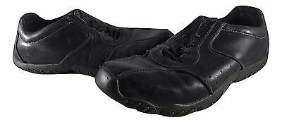 TIMBERLAND Black Leather Casual Shoes Mens SIZE 10M