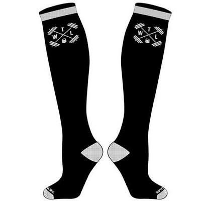 New The WOD Life - Knee High Socks - Black & White from The WOD Life