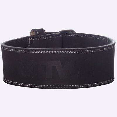 New TWL Suede Embossed Leather Lifting Belt from The WOD Life