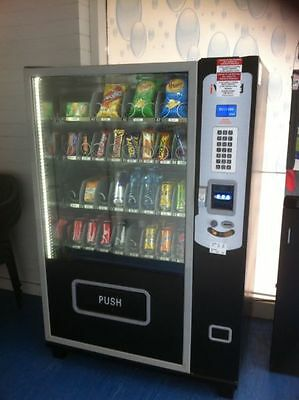 2 x Sited Combination vending machines