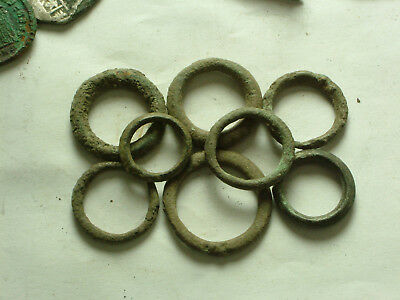 One original ancient Greek Proto money currency artifact pre coin age Ring money