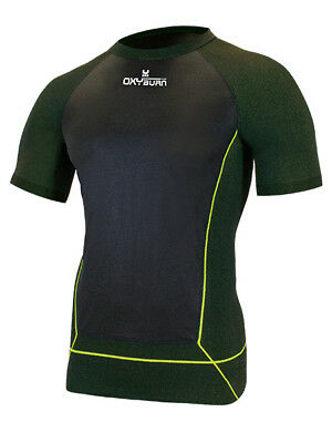 oxyburn Baselayer FunktionsShirt KompressionShirt Thermal top 5058 HALNY
