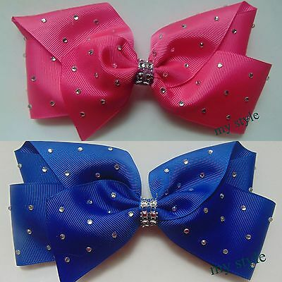 5-inch-12-5cm-Hair-Bow-medium-Dance-Moms-girls-hair-clips-kids  5-inch-12