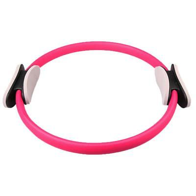 Pilates Resistance Ring Circles Gymnastics Yoga Aerobic Double Handle Pink
