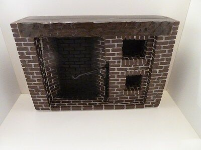 Dolls House Miniature 1:12th Kitchen Furniture Resin Colonial Fireplace (YM0244)