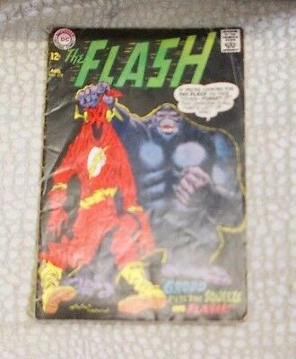 The Flash 1967 - Grood puts the squeeze on Flash  #172