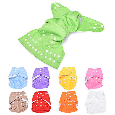 Sweet New  Reusable Baby Washable Cloth Diaper  +1INSERT pick color 1T4