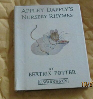 Appley Dapply's Nursery Rhymes (Potter 23 Tales) by Potter, Beatrix Hardback The