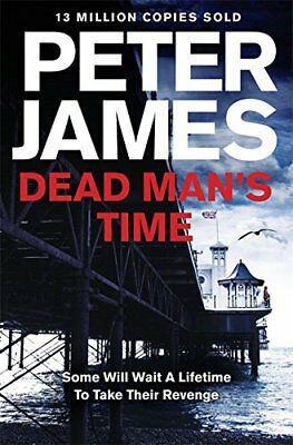 Dead Man's Time: 9 (Roy Grace Novels) by James, Peter Book The Cheap Fast Free