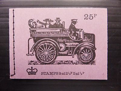 GB 1972 June 25p Machin Booklet DH46 NB2252