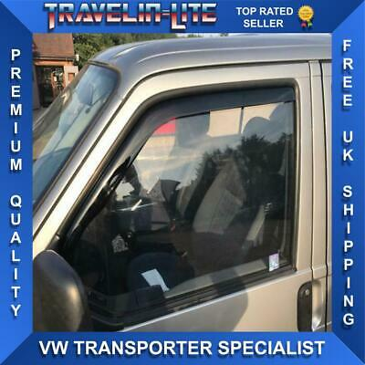 For VW T4 Transporter Wind Deflectors Great Quality Tinted Brand New