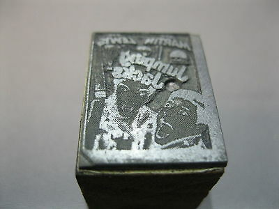 """Printers Block Of Movie """"jumping Jacks"""" With Dean Martin & Jerry Lewis"""