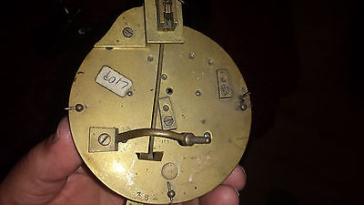 Nicolas French clock   movement for spares