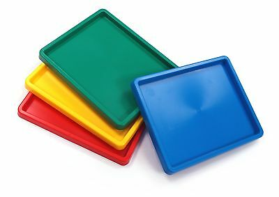 Coloured Palette Inking Paint Trays Pack 4 Assortted Colours
