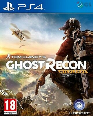 Tom Clancy's Ghost Recon Wildlands PS4 * NEW SEALED PAL *