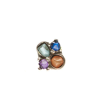 Handmade Colorful Resin Nugget Ring RING-6
