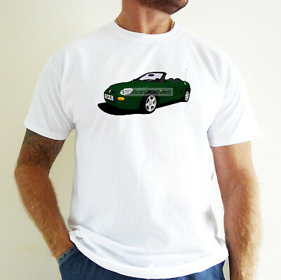 Mg Mgf Car Art T-Shirt. Personalise It!