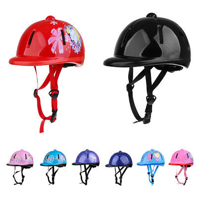 Safety Approved Children Kids Horse Riding Helmet Adjustable All Colors