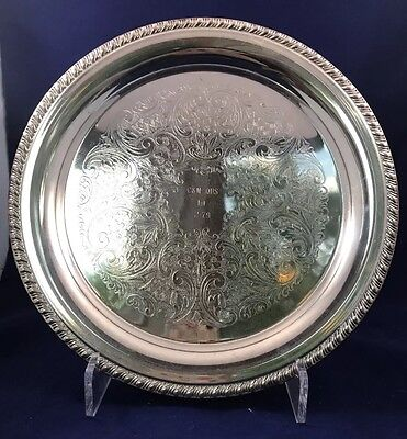 6 Quarter Horse Trophy Silver Plated Plates