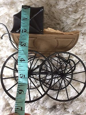 AA Vintage Dolls Baby Carriage Pram Antique Old Style 60's 70's