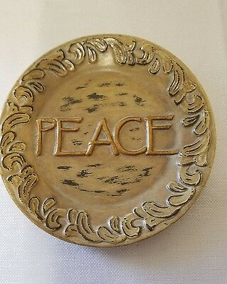 Peace Wall Hanging Plate