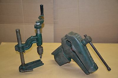 Cole Tool Swivel Bench Vise Anvil Drill Press Blacksmith Machinist