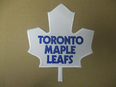 Vintage 1990's Toronto Maple Leafs Embroidered Sew On Logo Patch NICE