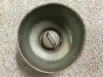 VINTAGE OLD RUSTY METAL MILK STRAINER Superior No. 2336348 Made in USA