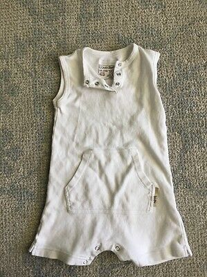 L'oved Baby Bodysuit Organic Cotton Infant Baby Romper Size Size 18-24M