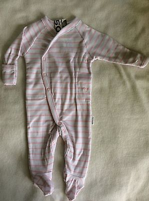 Bonds Baby Girls Newbies Long Suit BNWT Match Me Clips Size 0