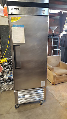 1 Door REFRIGERATOR by Turbo Air Single Door Stainless Commercial NSF
